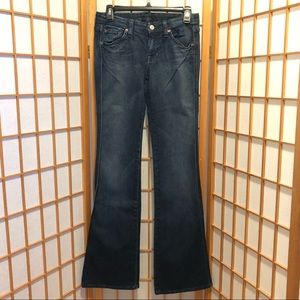 "7 For All Mankind ""A Pocket"" Boot Cut Jeans"